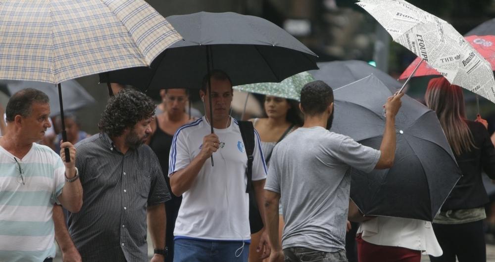 Semana será de chuva no Rio