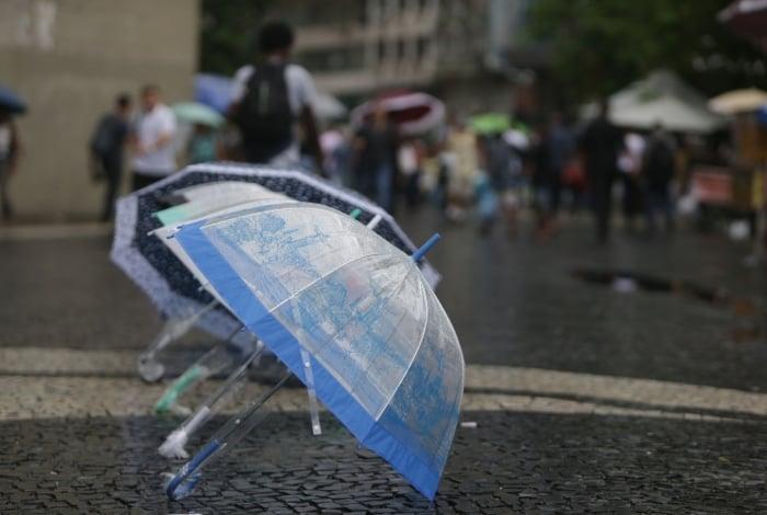 Chuva fraca deve atingir novamente o município do Rio