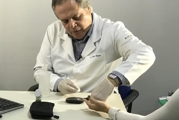 Centro de Pesquisas Clínicas, em Botafogo, vai oferecer teste de glicose
