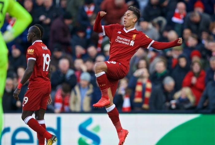 Roberto Firmino atua pelo Liverpool