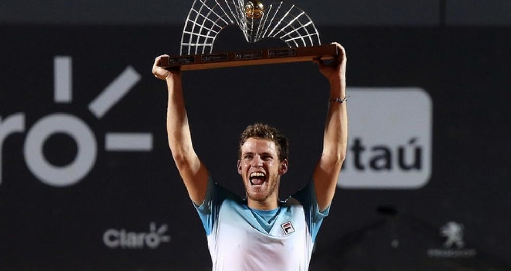 Diego Schwartzman levou o título no Rio