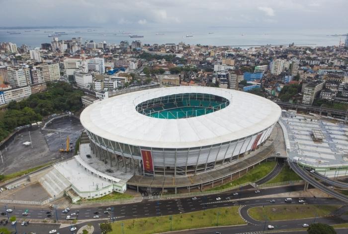 Arena Fonte Nova, na Bahia