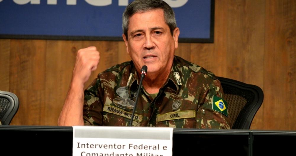 Braga Netto garantiu mais de 60 operações no Rio