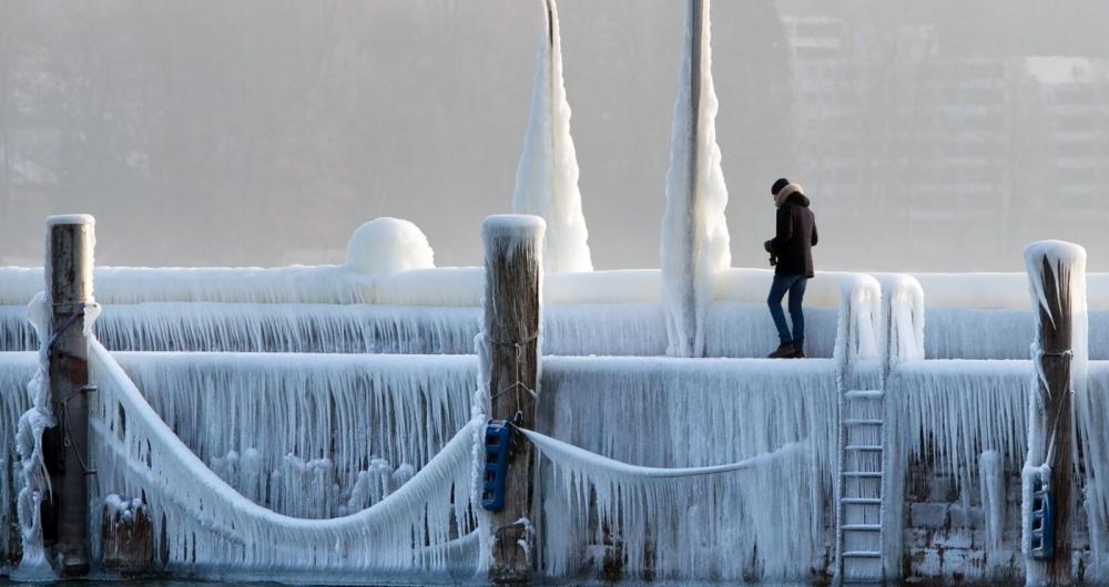 Onda de frio causa transtornos em países da Europa