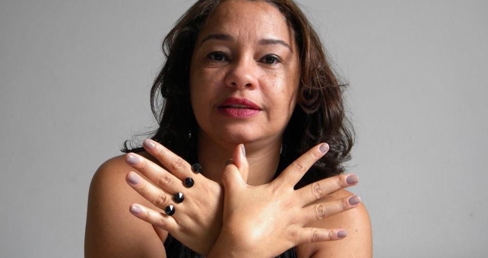 Andr�a Souza do projeto Peito Aberto