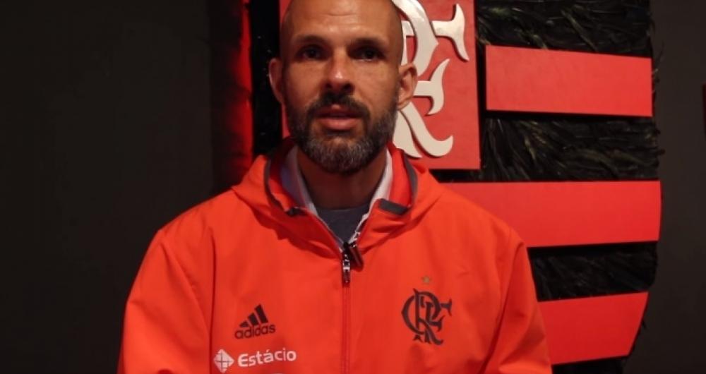 Alexandre Dantas é o coordenador-técnico de vôlei do Flamengo