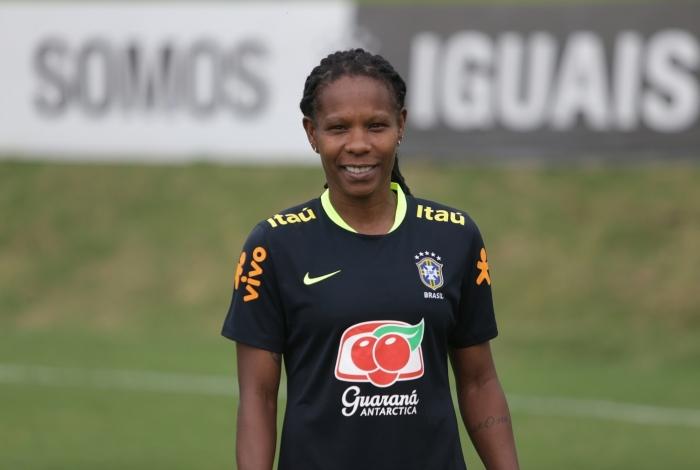 Formiga tem mais de 20 anos de serviços prestados à Seleção Brasileira