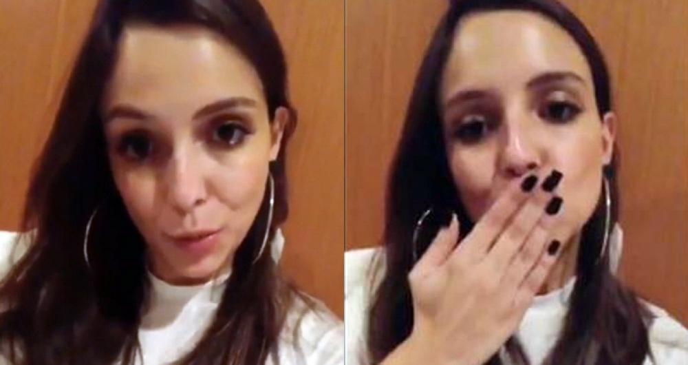 Ana L�cia Vilela agradece o carinho do p�blico e diz: 'vida que segue'