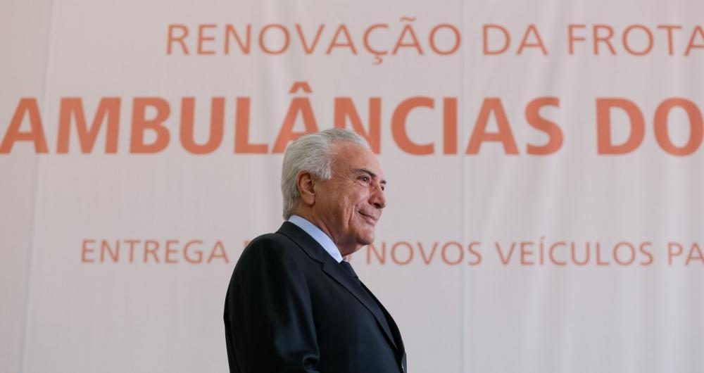 'O Rio é uma vitrine, de modo que se enfrentarmos o problema lá, resolvemos o resto do País', disse Temer