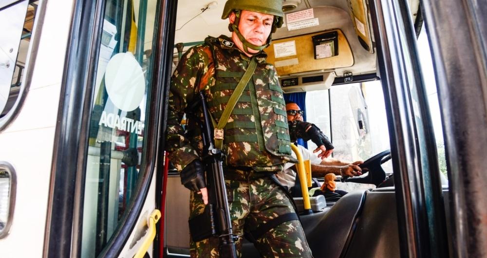 Forças Armadas atuaram em São Gonçalo