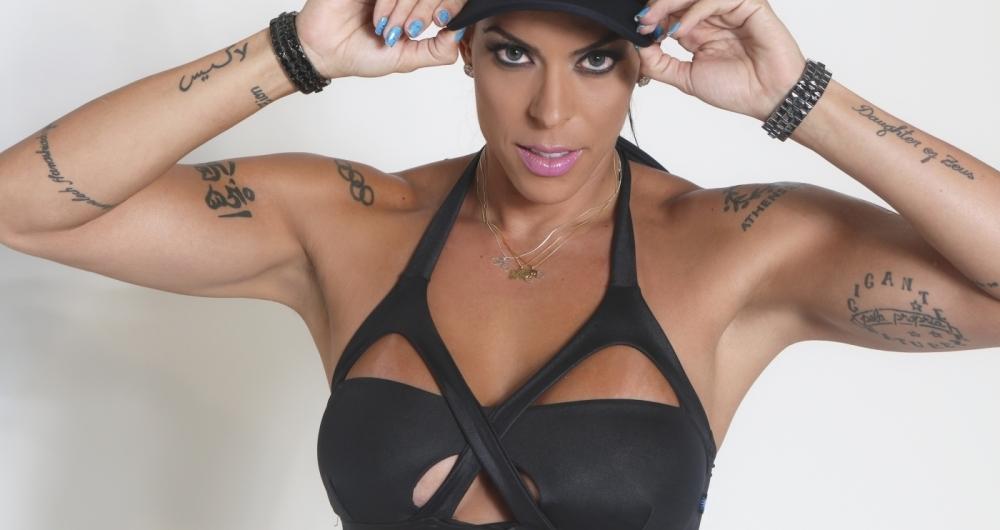 Ex-atleta e personal trainer Rebeca Gusm�o