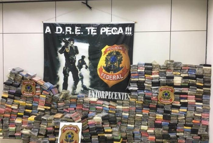 Carga de 1,5 tonelada foi apreendida no Porto do Rio, em março deste ano, e teria como destino a Bélgica