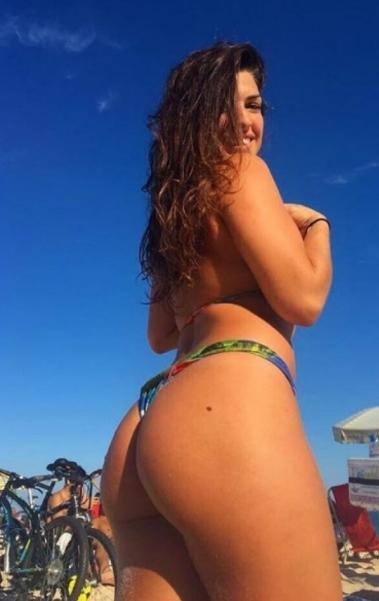 A bela Mackenzie Dern é apaixonada pelo Rio de Janeiro