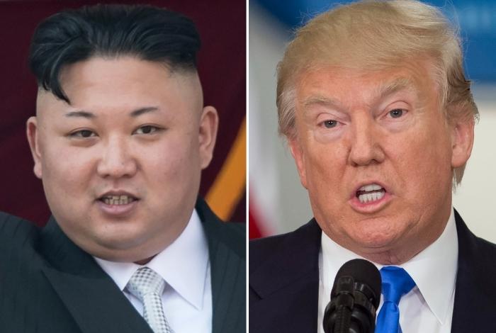 """Trump elogiou o """"gesto de boa vontade"""" do líder norte-coreano Kim Jong Un, com quem irá se reunir nas próximas semanas"""