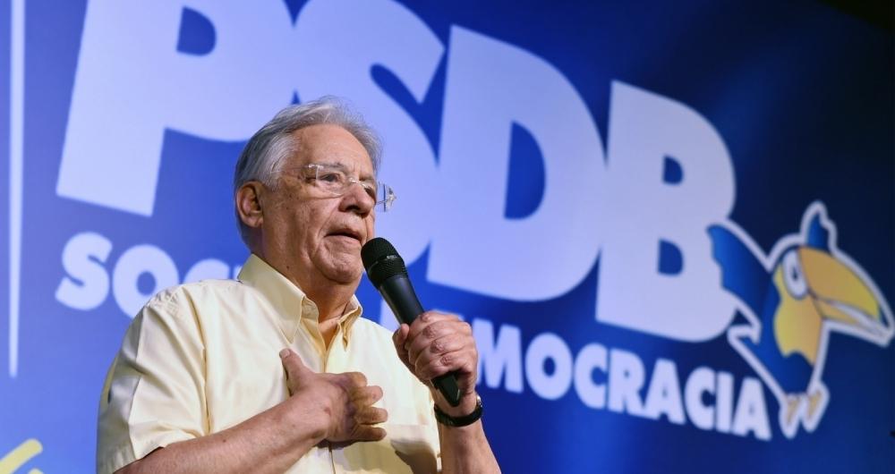 Fernando Henrique reafirma apoio a Alckmin