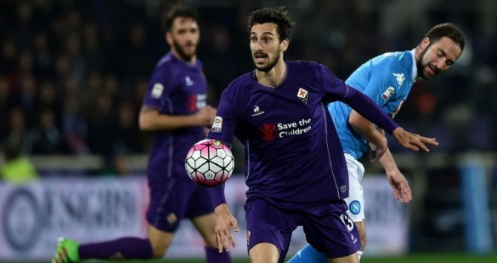 Astori era uma refer�ncia na equipe da Fiorentina