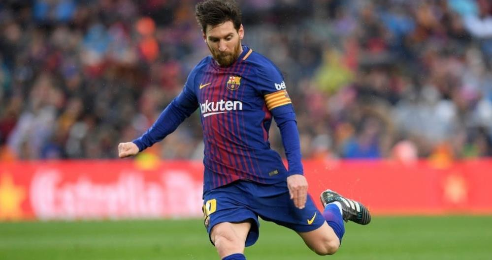 Messi voltou a decidir para o Barcelona