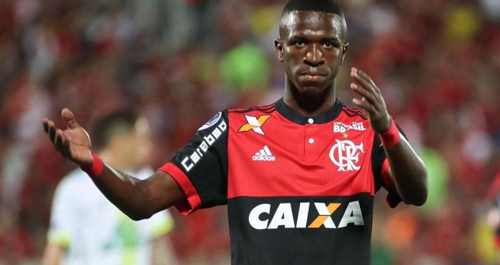 Vinicius J�nior foi novamente alvo de coment�rios racistas