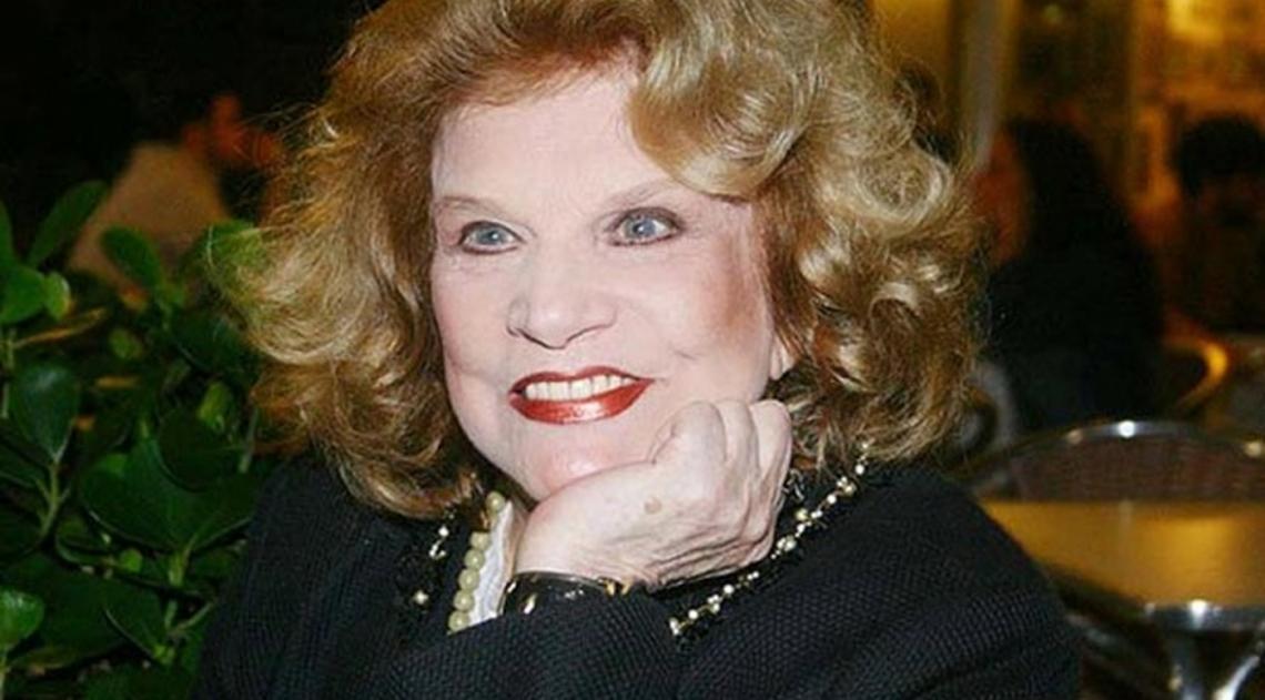 Atriz T�nia Carrero tinha 95 anos