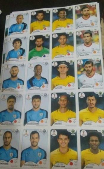 Figurinhas de �lbum da Copa do Mundo vazaram no Twitter
