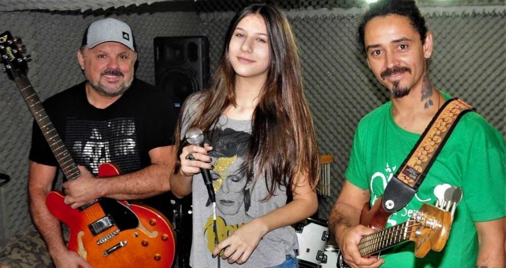 Valentina Rocha e a banda Midnight Trio prometem repertório com músicas de Amy Winehouse, Rihanna, Cássia Eller, Rita Lee e Beatles