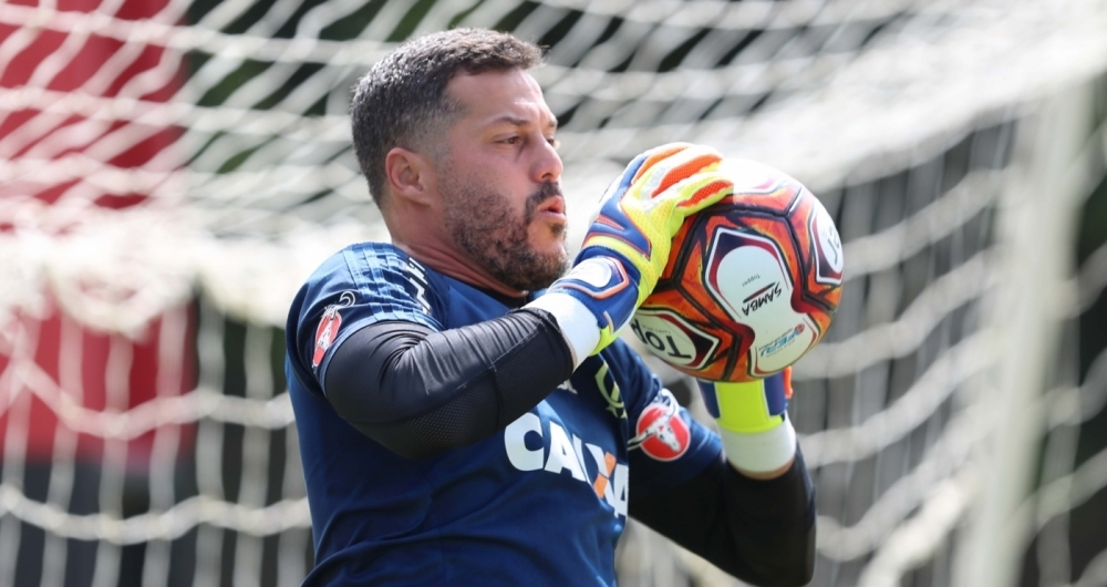 Julio Cesar faz sua reestreia pelo Flamengo