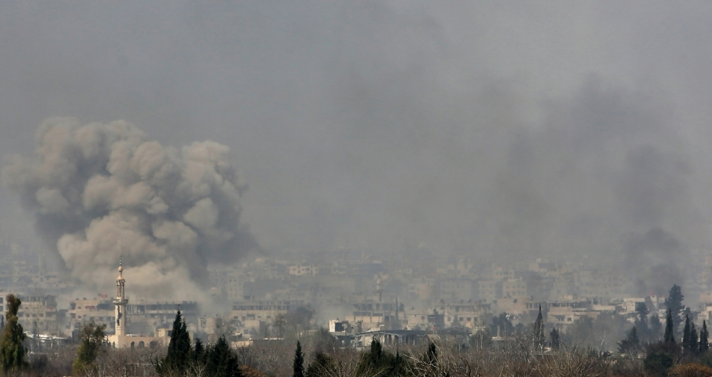 Bombardeios do Ex�rcito matam 48 nesta quarta-feira.