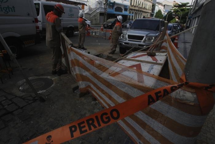 Equipe da Light foi agredida e roubada em Nova Iguaçu