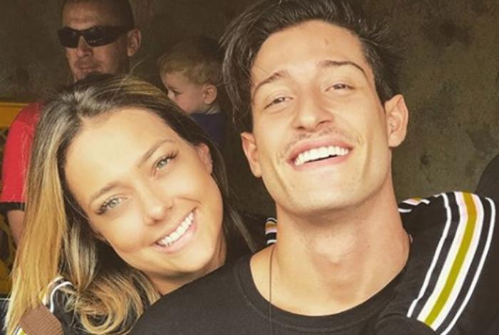 Carol Dantas e o namorado, Vinicius
