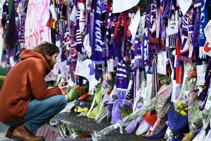 Davide Astori era o capitão da Fiorentina e faleceu no último fim de semana.