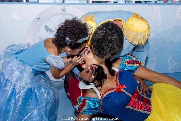Naldo e Ellen Cardoso fazem festa para comemorar os 3 anos de Maria Victória
