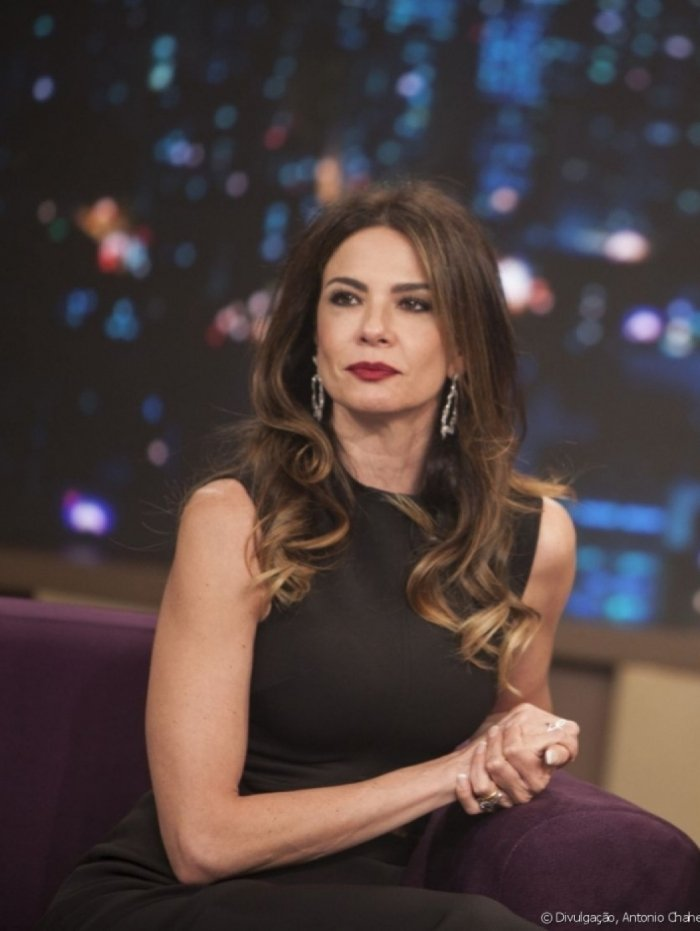 Apresentadora Luciana Gimenez