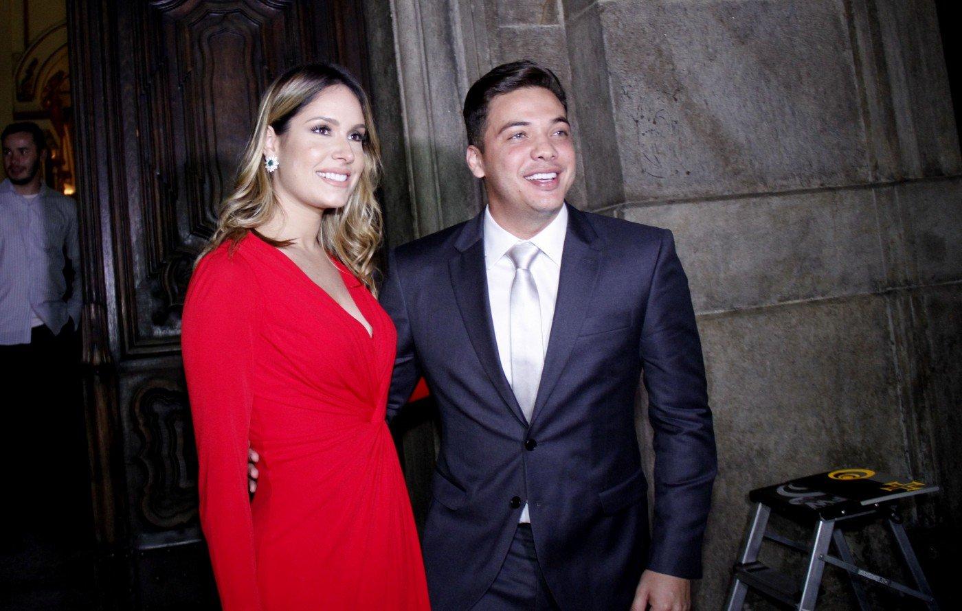 Wesley Safadão e a atual mulher, Thyane Dantas - Onofre Veras / Agência O Dia