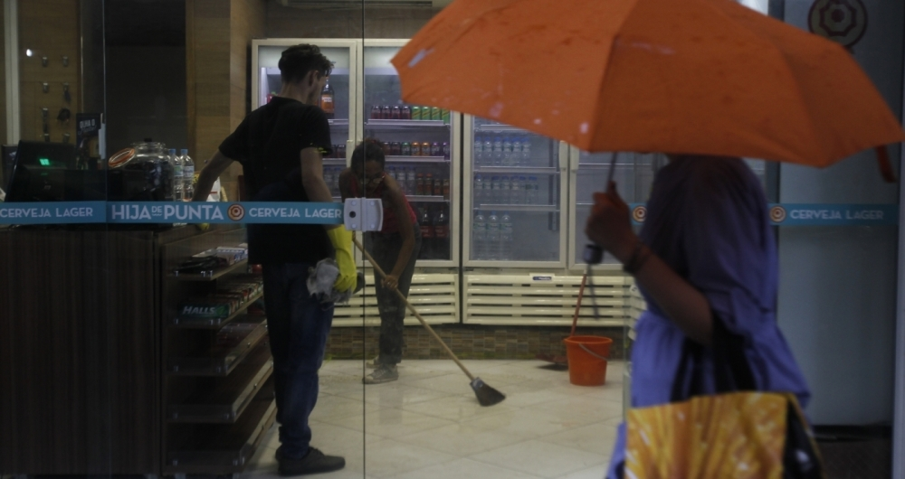 Local onde ocorreu o tiroteio: disputa por ponto de tr�fico