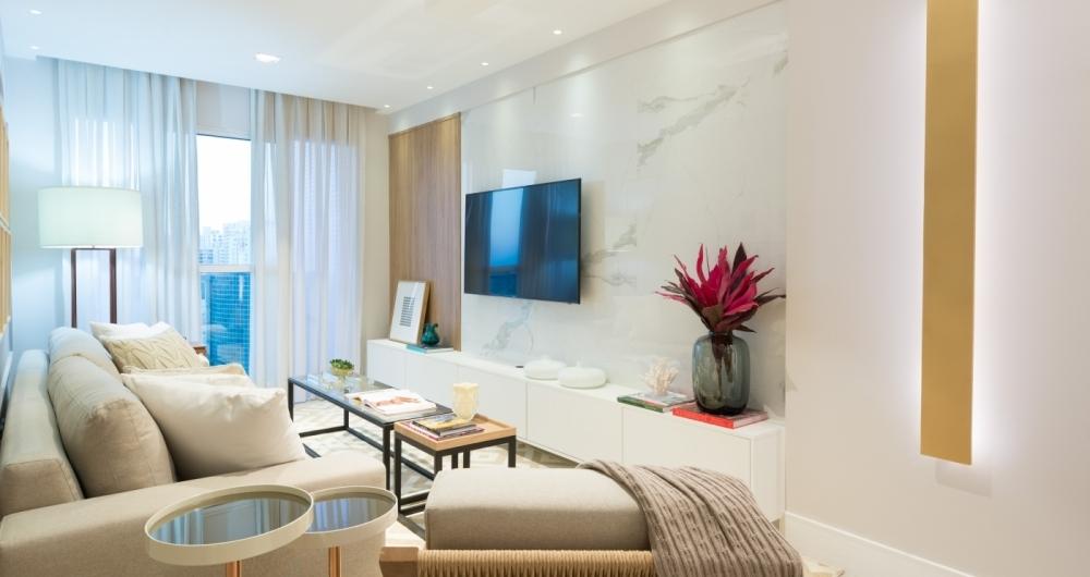 Como montar uma sala moderna o dia im veis e casa for Sala moderna 2018