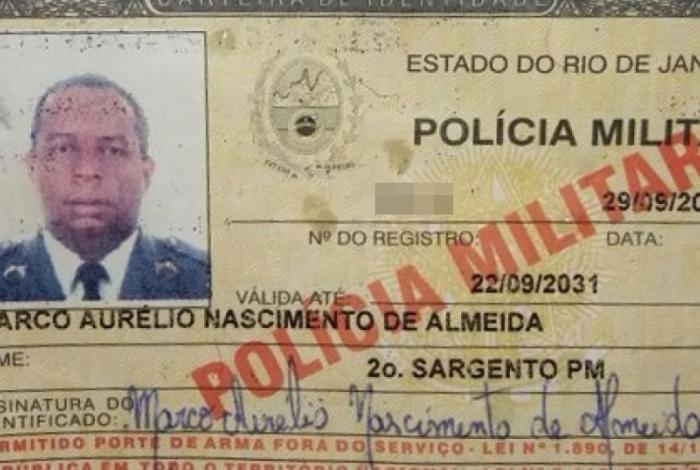 Sargento Marco Aurélio Nascimento de Almeida é morto a tiros em Campo Grande
