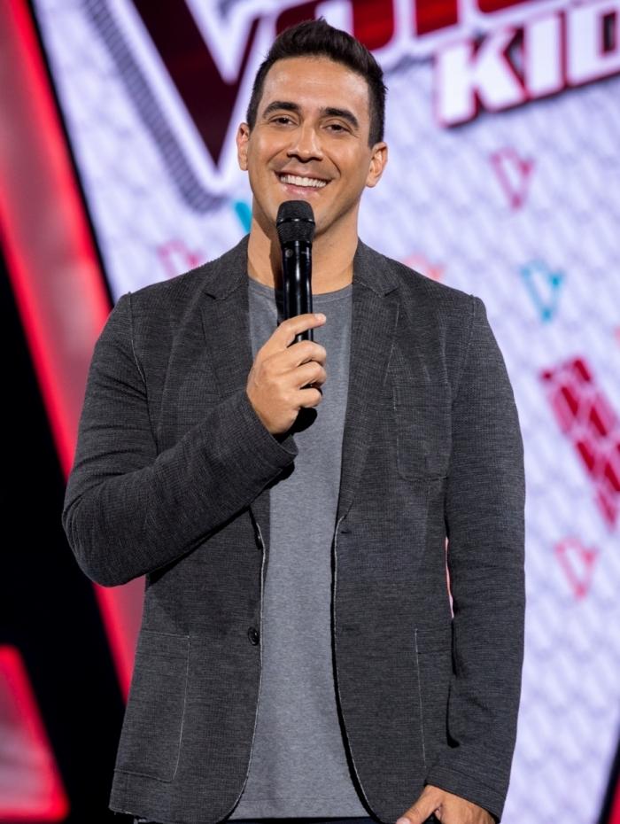 André Marques, apresentador do 'The Voice Kids'