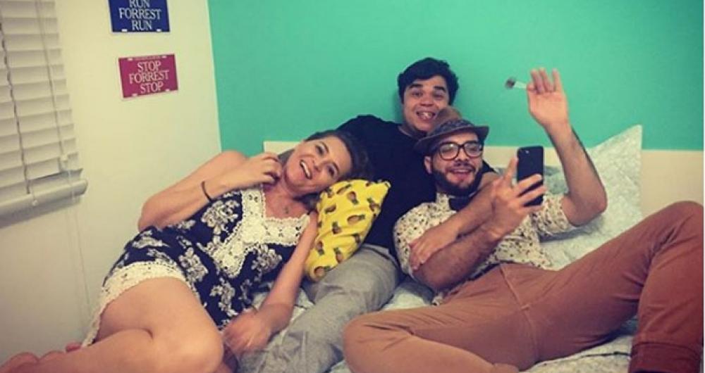 Eva, Jorginho e Mahmoud