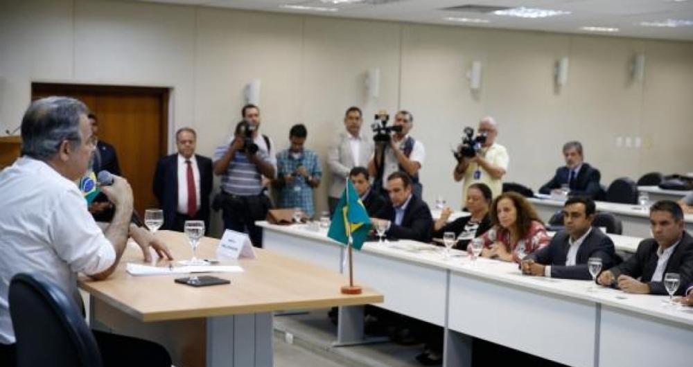 Em encontro no Rio de Janeiro, o ministro  da Seguran�a P�blica, Raul Jungmann, diz a deputados federais fluminenses que mudan�as ser�o graduais e que n�o haver�
