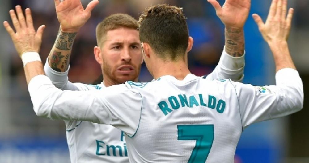 Sergio Ramos e Cristiano Ronaldo vão encarar a Juventus