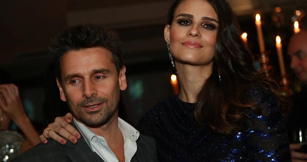 Murilo Rosa e a modelo Fernanda Tavares