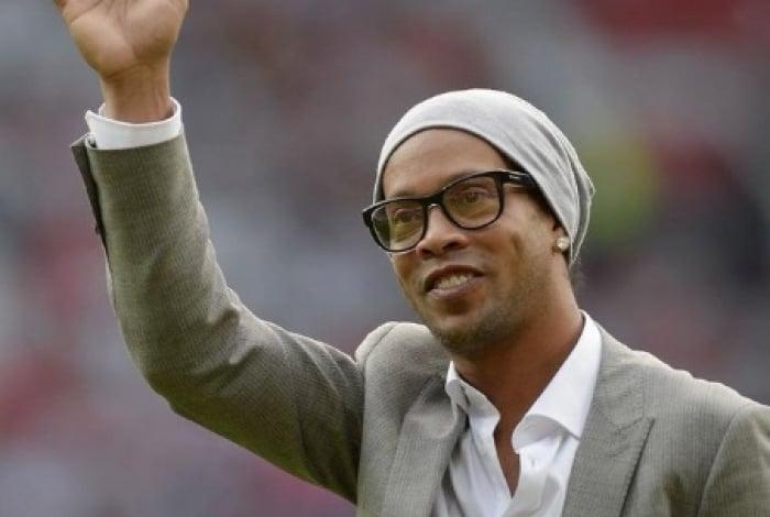 Ronaldinho encerrou carreira de jogador de futebol