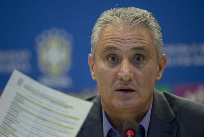 Tite, treinador da seleção brasileira