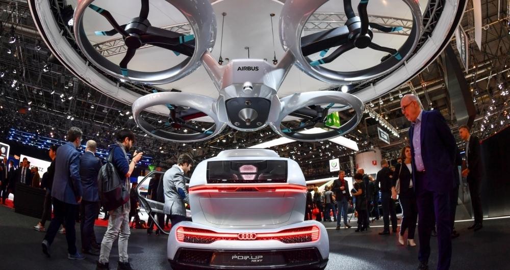 A autonomia do carro drone � de 500 km no ar e 1.900 km no ch�o