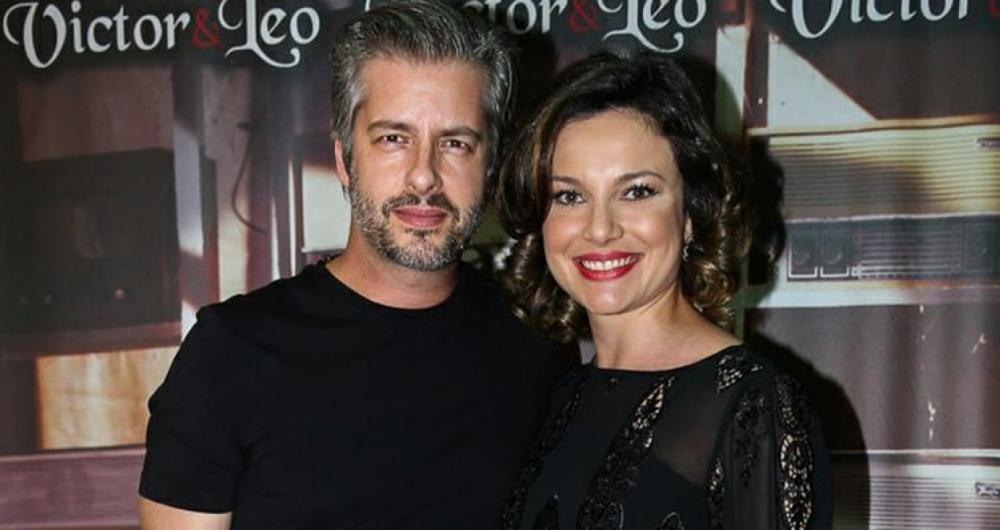 Victor Chaves e Poliana Bagatini