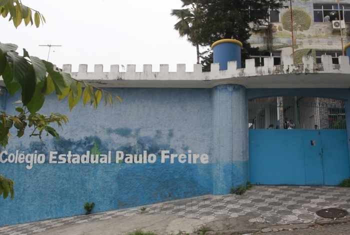 Renovação da matrícula ma rede estadual começa na quarta-feira. Na foto, o Colégio Estadual Paulo Freire, em Cachambi