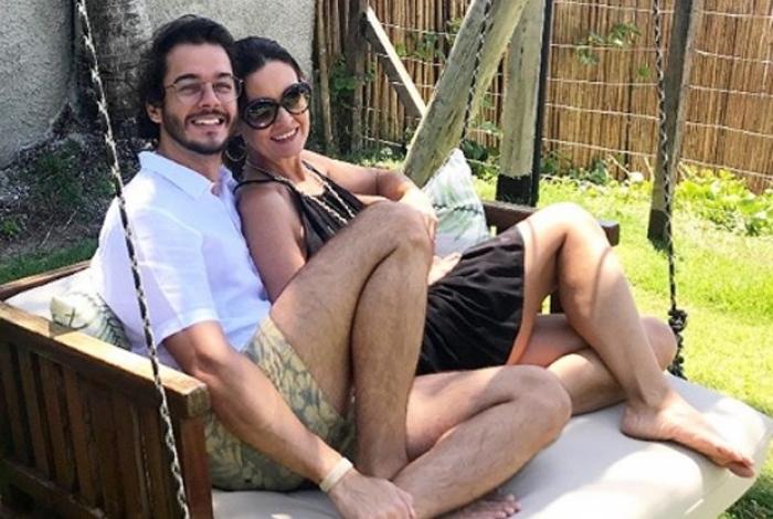 Fátima Bernardes e Túlio Gadelha curtem viagem romântica