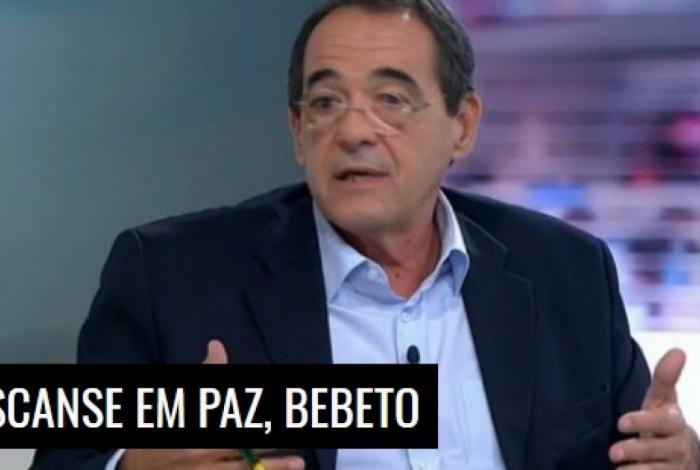 Bebeto de Freitas foi presidente do Botafogo