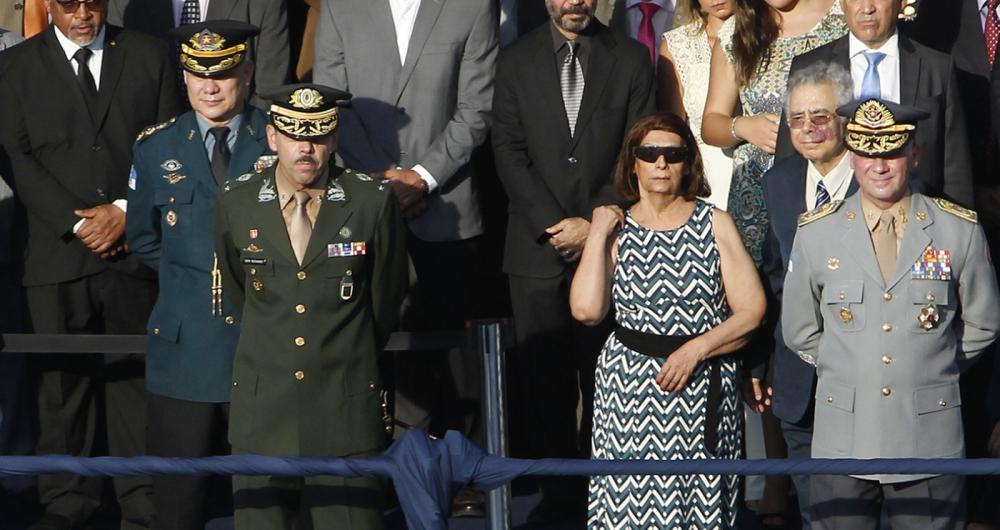Cerimônia de posse do coronel Laviano