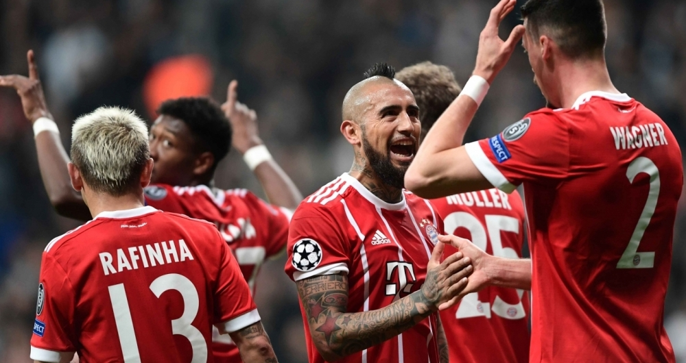 Bayern avan�ou na Liga dos Campe�es